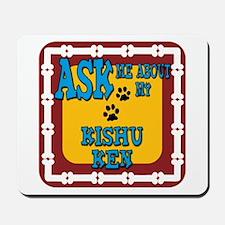 Kishu Ken Mousepad