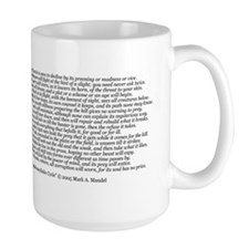 Dragaeran Cycle Large Klava Mug With Poem