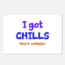 I Got Chills Postcards (Package of 8)