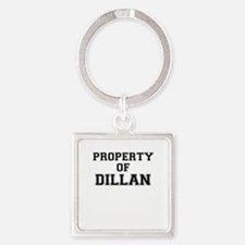 Property of DILLAN Keychains
