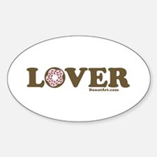 Donut Lover Oval Decal