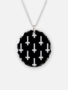 upside down cross Necklace