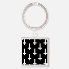 upside down cross Keychains