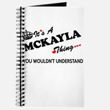 MCKAYLA thing, you wouldn't understand Journal