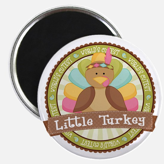 Little Turkey Magnet