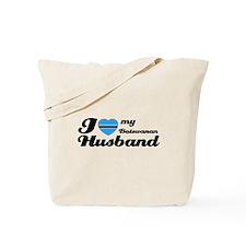 I love my Botswanan Husband Tote Bag