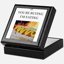 Meat joke Keepsake Box