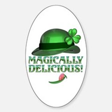 Magically Delicious 2 Oval Decal