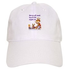 MAD HATTER RULES Baseball Cap