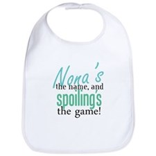 Nona's the Name, and Spoiling's the Game! Bib
