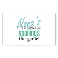Nona's the Name, and Spoiling's the Game! Stickers