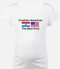 Croatian-American-the Best Ki Shirt