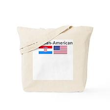 Croatian American Tote Bag