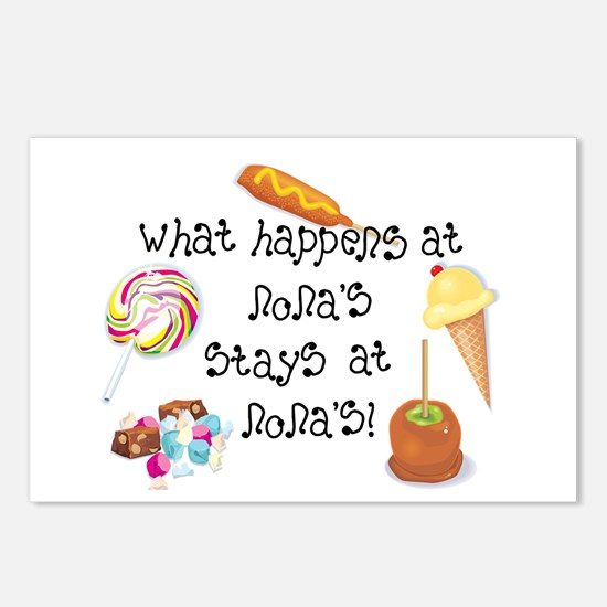 What Happens at Nona's... Postcards (Package of 8)