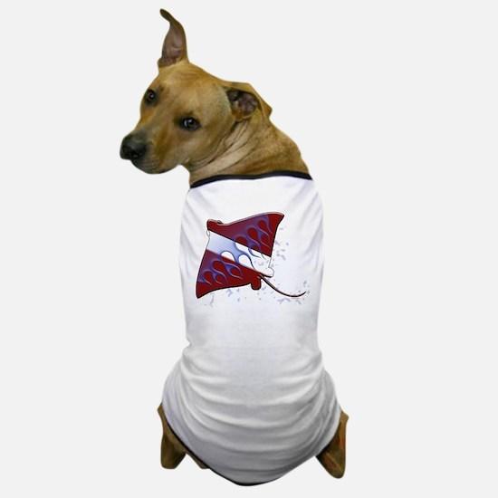 Cute Dive flag Dog T-Shirt