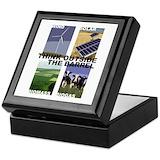 Energy conservation Keepsake Boxes