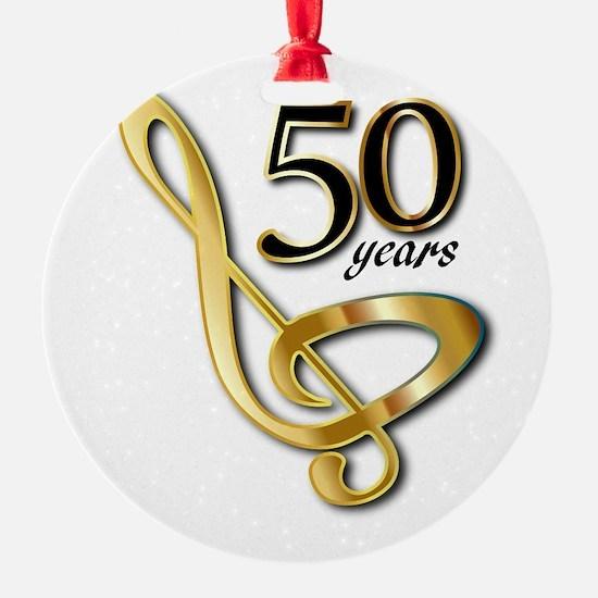 50 Years Golden Celebration Ornament