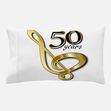 50 Years Golden Celebration Pillow Case