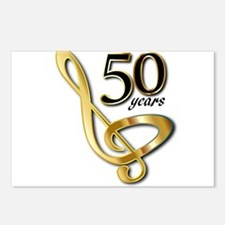 50 Years Golden Celebrati Postcards (Package of 8)