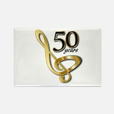 50 Years Golden Celebration Magnets