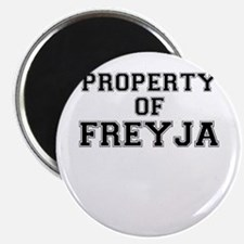 Property of FREYJA Magnets