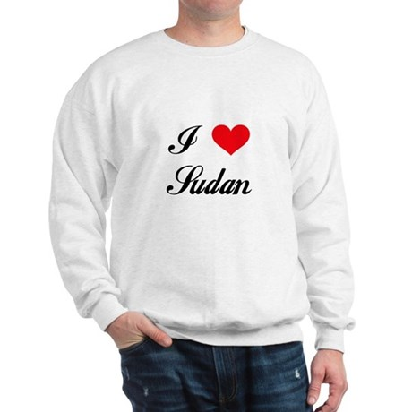 I Love Sudan Sweatshirt