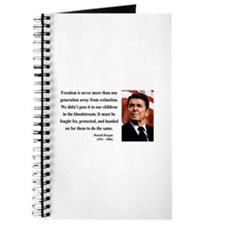 Ronald Reagan 9 Journal