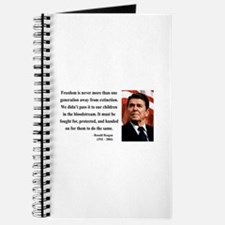 Ronald Reagan 9 Journal