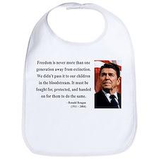 Ronald Reagan 9 Bib