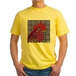 Psycho Rooster Yellow T-Shirt