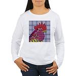 Psycho Rooster Women's Long Sleeve T-Shirt