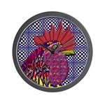 Psycho Rooster Wall Clock