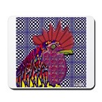Psycho Rooster Mousepad