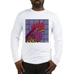 Psycho Rooster Long Sleeve T-Shirt