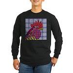 Psycho Rooster Long Sleeve Dark T-Shirt