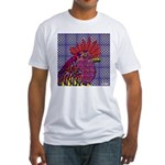 Psycho Rooster Fitted T-Shirt