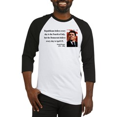 Ronald Reagan 10 Baseball Jersey