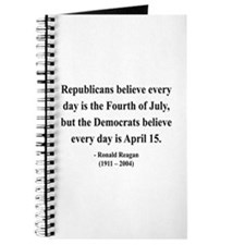 Ronald Reagan 10 Journal