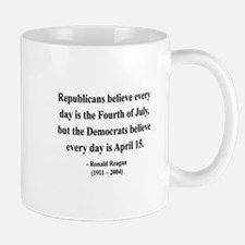 Ronald Reagan 10 Small Small Mug