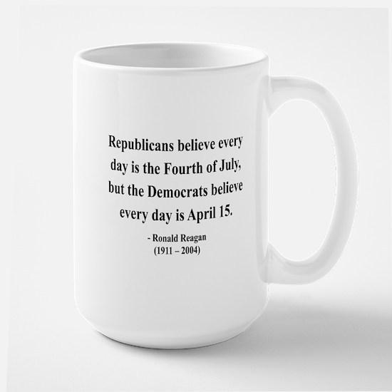 Ronald Reagan 10 Large Mug
