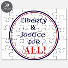 Liberty and justice for all Puzzle