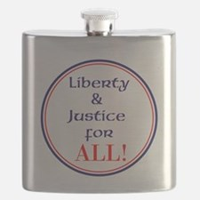Liberty and justice for all Flask