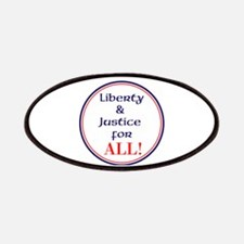 Liberty and justice for all Patch