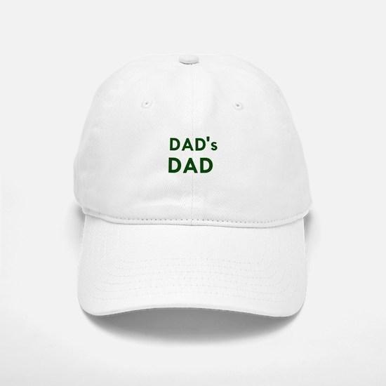 """Dad's Dad"" Baseball Baseball Cap"