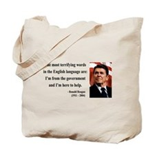 Ronald Reagan 11 Tote Bag