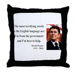 Ronald Reagan 11 Throw Pillow
