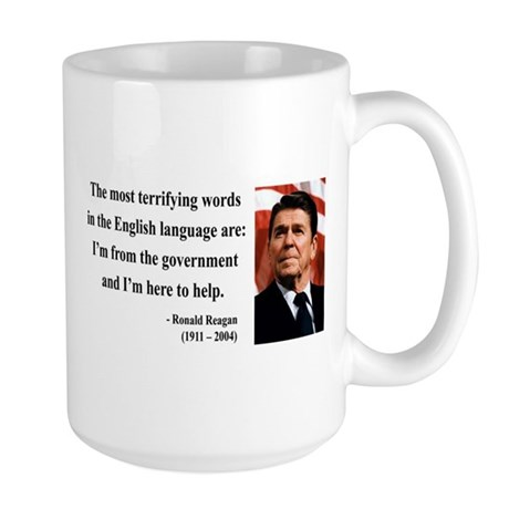 Ronald Reagan 11 Large Mug