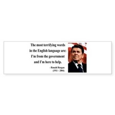Ronald Reagan 11 Bumper Bumper Sticker