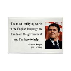 Ronald Reagan 11 Rectangle Magnet