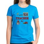 Teachers Do It With Class Women's Dark T-Shirt